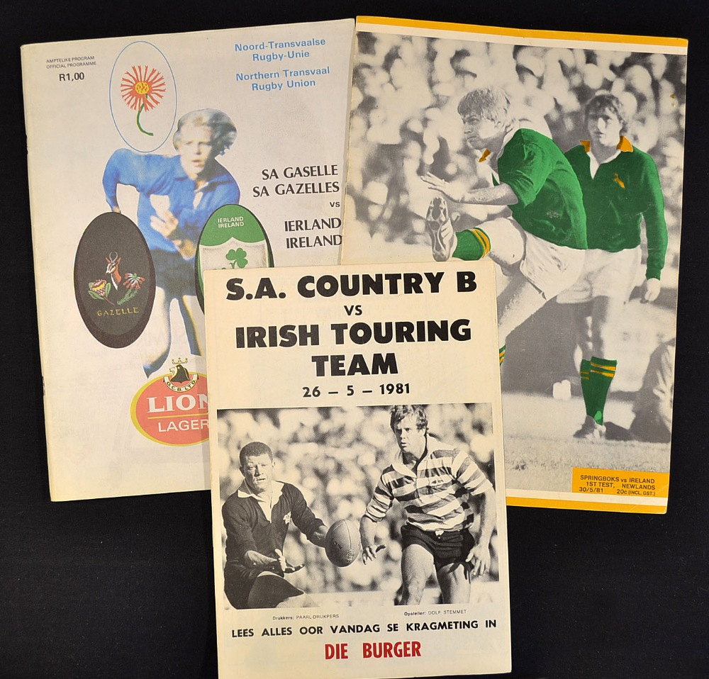 Scarce Collection 1981 Ireland Rugby