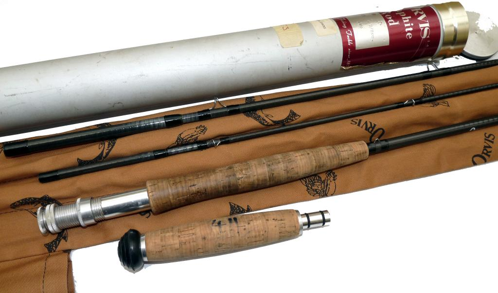 Mullock's Auctions - ROD: Orvis Graphite 11' 3 piece fly rod