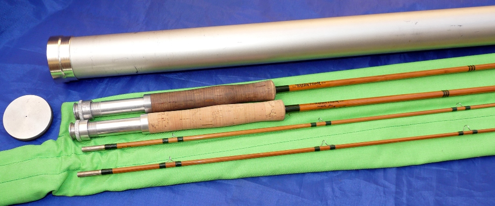 Mullock 39 s auctions rod the walton powell rod usa made for Powell fishing rods