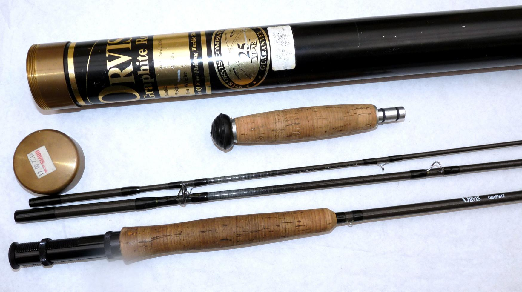 Mullock's Auctions - ROD: Orvis Graphite salmon 10' 3 piece fly