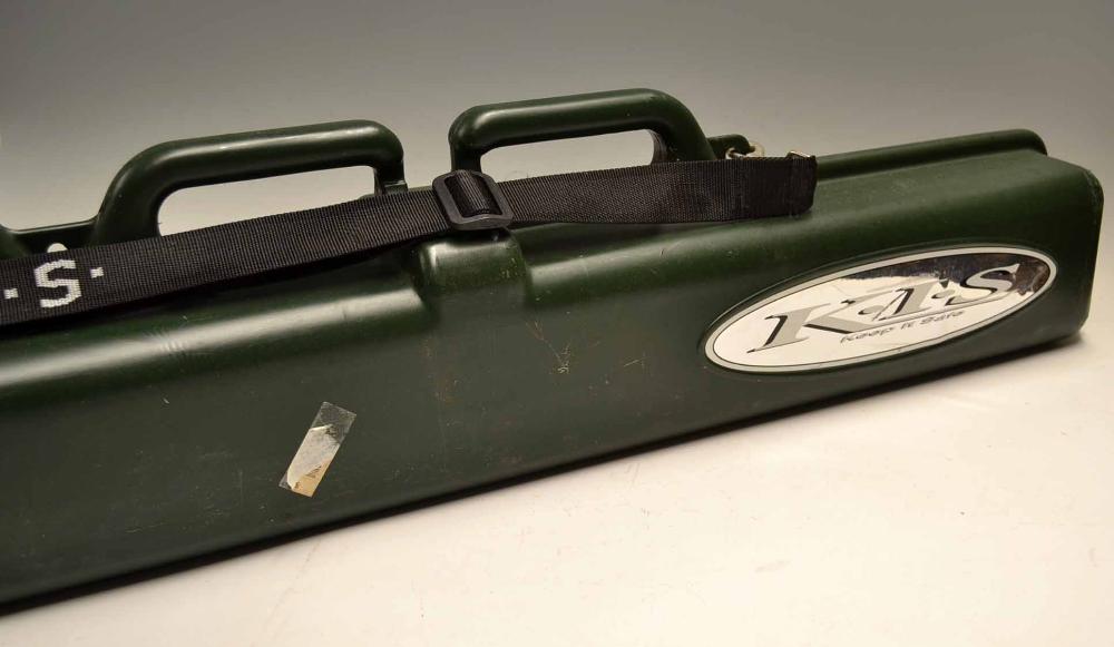 Mullock 39 s auctions k i s fishing rod ski adjustable for Fishing pole travel case