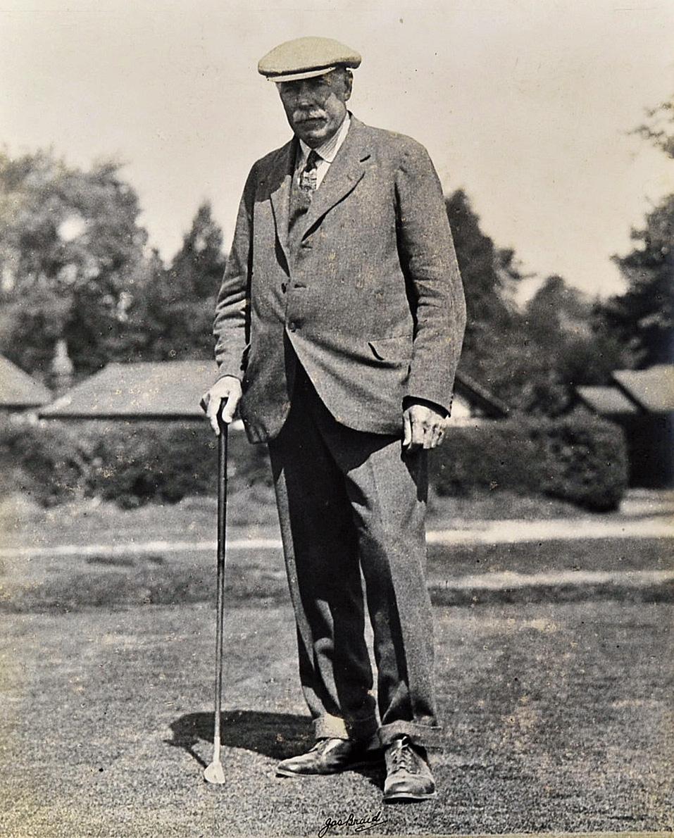 James Braid (5x Open Golf Champion