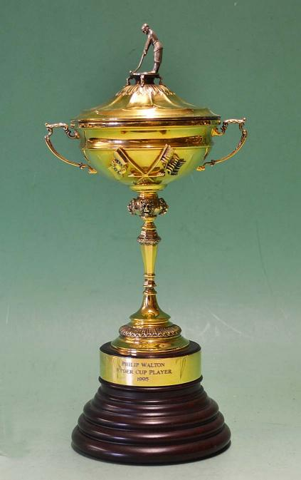 Mullock S Auctions Rare Players Ryder Cup Silver Gilt