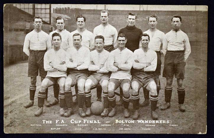 lot 10951923 fa cup winners bolton wanderers football team