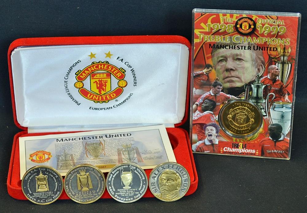 Mullock S Auctions Manchester United Treble Season