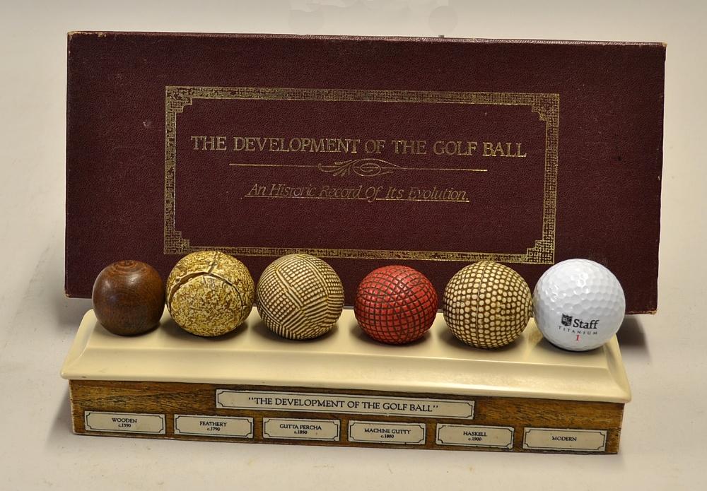 Mullock S Auctions Golf Ball Display The Development