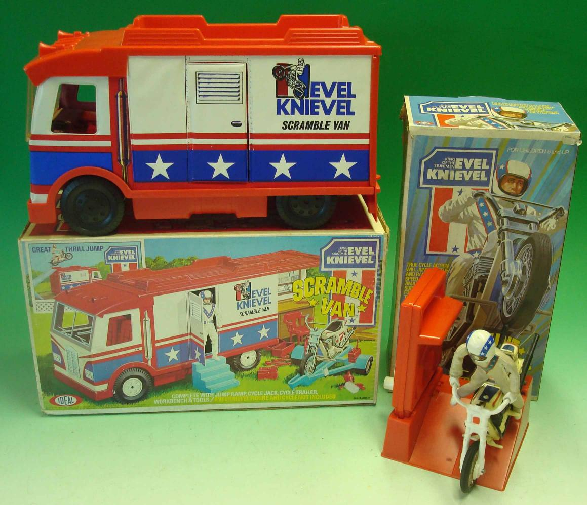 mullock 39 s auctions evel knievel stunt bike and scramble. Black Bedroom Furniture Sets. Home Design Ideas