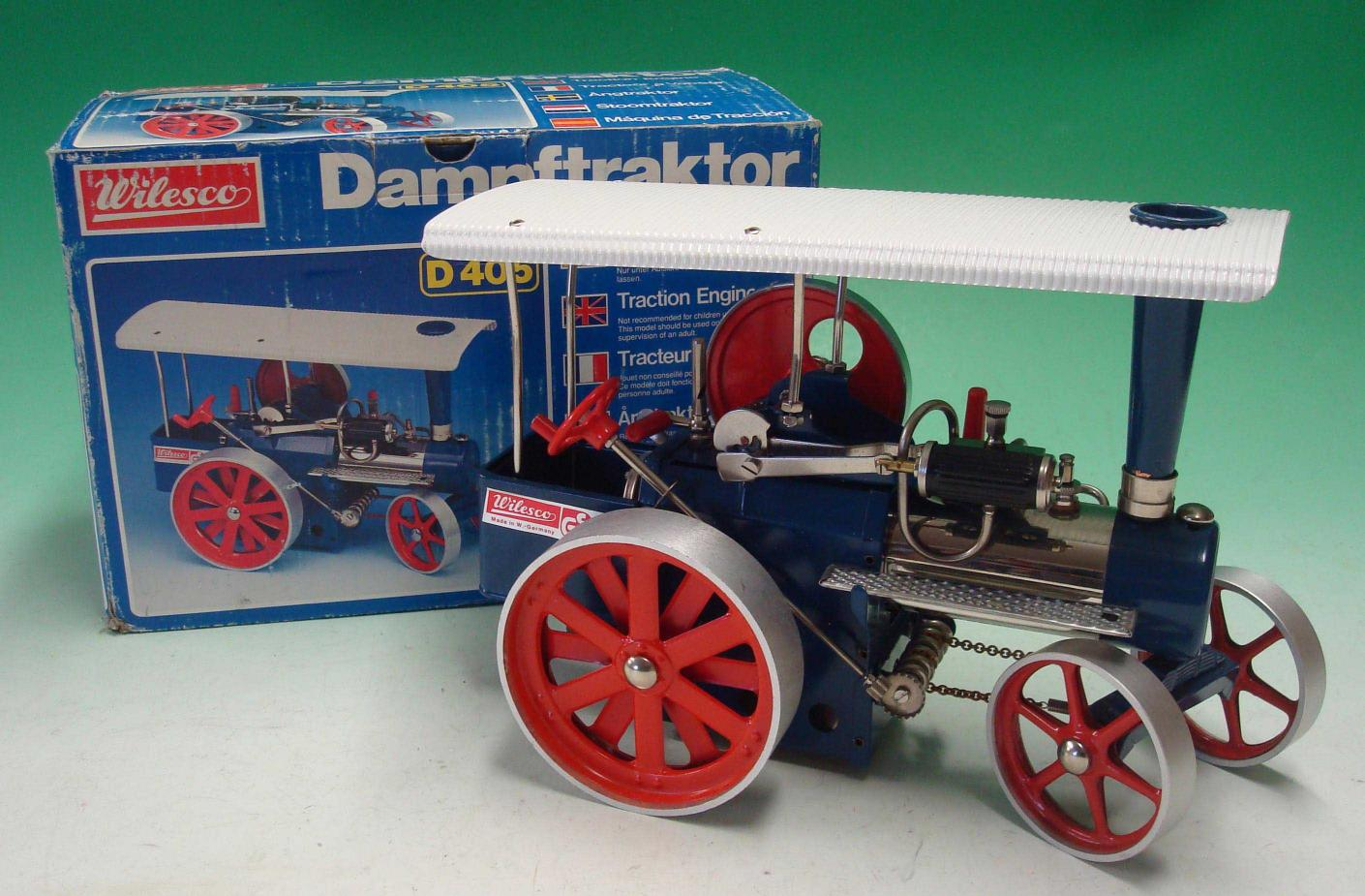 Mullock S Auctions Wilesco Dampftraktor Steam Traction