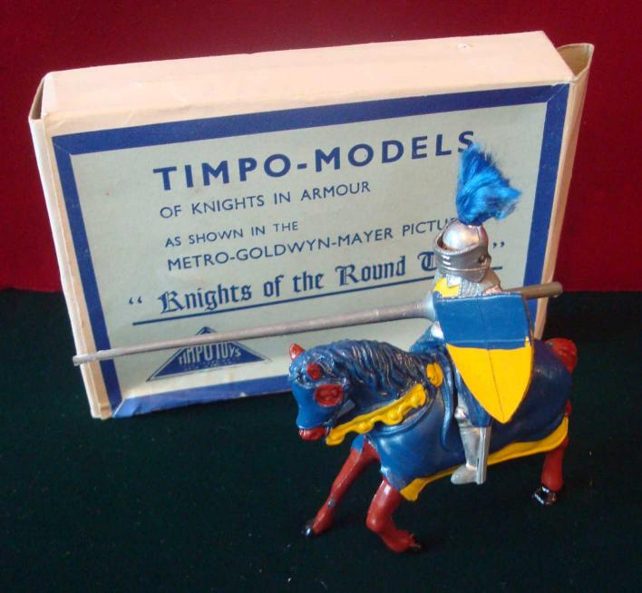 Mullock's Auctions - Timpo - Knights of the Round Table Series