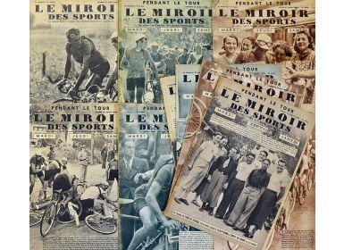 Mullock 39 s auctions large collection of le miroir des for Le miroir des sports